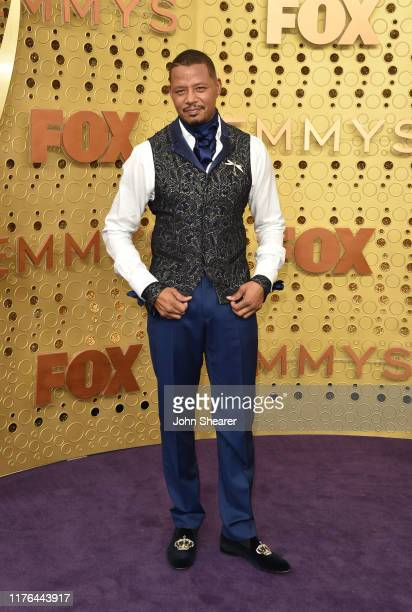 Terrence Howard attends the 71st Emmy Awards at Microsoft Theater on September 22 2019 in Los Angeles California