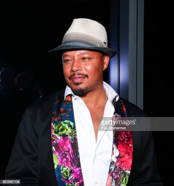 Terrence Howard attends the 'Empire' 'Star' Celebrate FOX's New Wednesday Night at One World Observatory on September 23 2017 in New York City