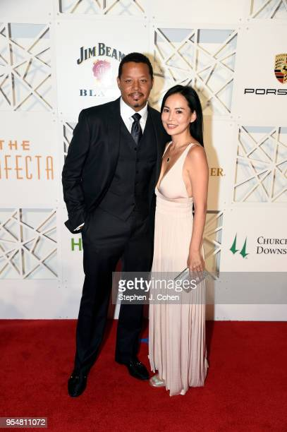 Terrence Howard attends The Trifecta Gala on May 4 2018 in Louisville Kentucky