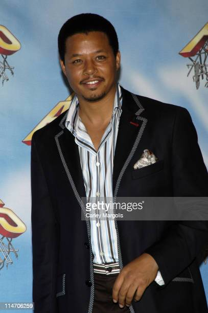 Terrence Howard during 2005 MTV Movie Awards - Press Room at Shrine Auditorium in Los Angeles, California, United States.