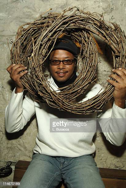 Terrence Howard during 2006 Park City Hollywood Life House and Cadillac Lounge Day 4 at 518 Main Street in Park City Utah