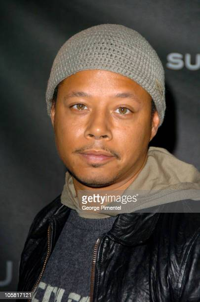 Terrence Howard during 2006 Sundance Film Festival - Opening Day Press Conference at Kimball Art Center in Park City, Utah, United States.