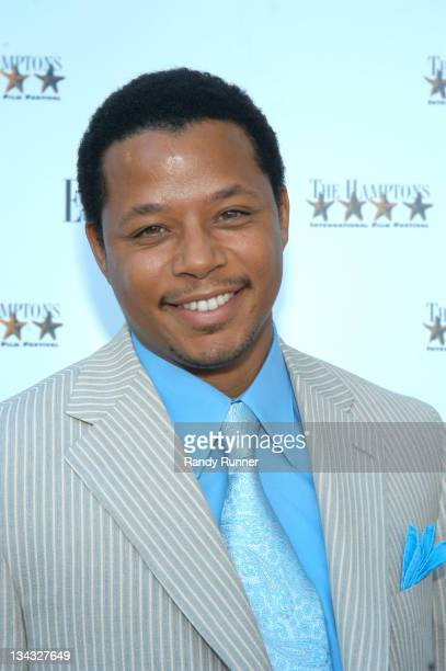 Terrence Howard during Hamptons Film Festival and Elle Magazine Present Paramount Classics' 'Hustle and Flow' at Southhampton UA Cinema in...