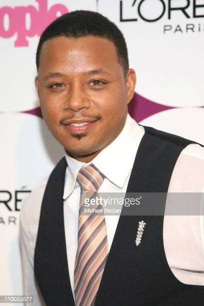 Terrence Howard during People Magazine Post GRAMMY Party Hosted by Beyonce at ELEVEN Restaurant and Nightclub in West Hollywood California United...