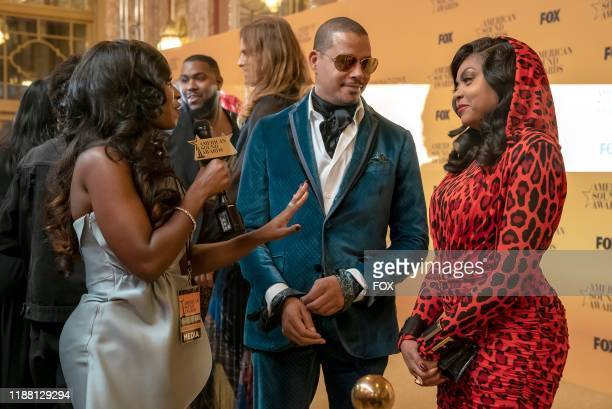 """Terrence Howard, guest star Kendra G and Taraji P. Henson in the """"Cold Cold Man"""" fall finale episode of EMPIRE airing Tuesday, Dec. 17 on FOX."""
