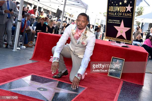 Terrence Howard is honored with a Star on the Hollywood Walk of Fame on September 24, 2019 in Hollywood, California.