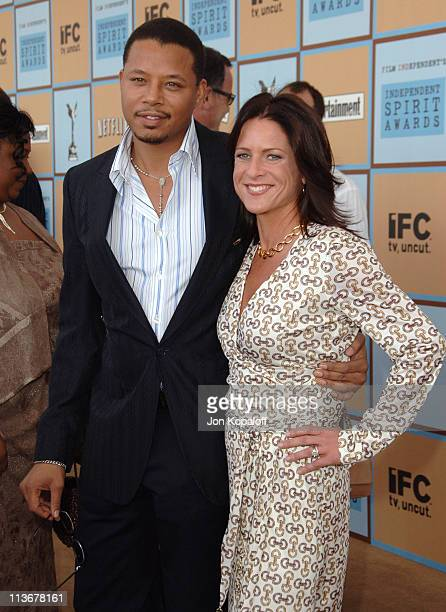 "Terrence Howard, nominee Best Male Lead for ""Hustle & Flow"" and Cathy Schulman, producer and nominee Best First Feature for ""Crash"""