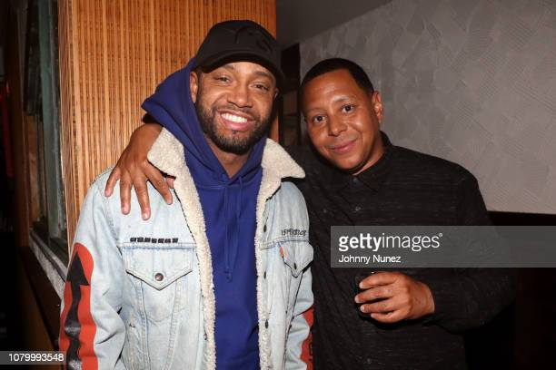 Terrence J. And Keenan Towns attend the Barry Mullineaux Birthday Celebration at Pomona on January 9, 2019 in New York City.