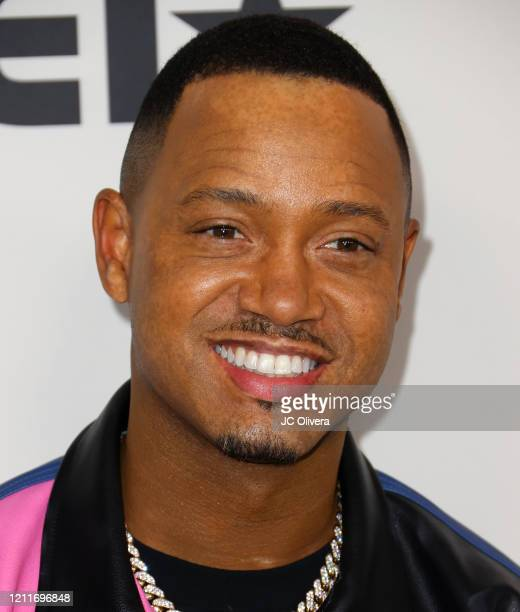"""Terrence J attends the premiere of BET's """"Boomerang"""" Season 2 at Paramount Studios on March 10, 2020 in Los Angeles, California."""
