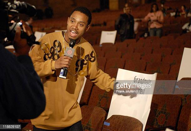 "Terrence J of BET's ""106 & Park"" during 2006 BET Hip-Hop Awards - Rehearsals - Day 1 at Fox Theatre in Atlanta, Georgia, United States."
