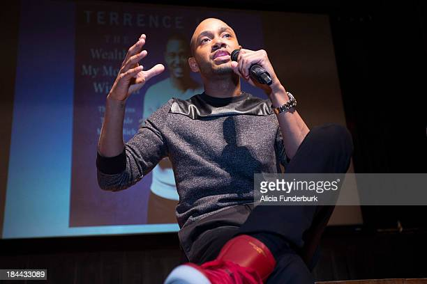 """Terrence J. Promotes his new book """"The Wealth Of My Mother's Wisdom"""" at North Carolina Agricultural & Technical State University on September 26,..."""
