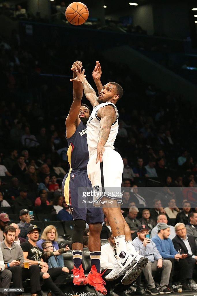 Brooklyn Nets vs New Orleans Pelicans: NBA : News Photo