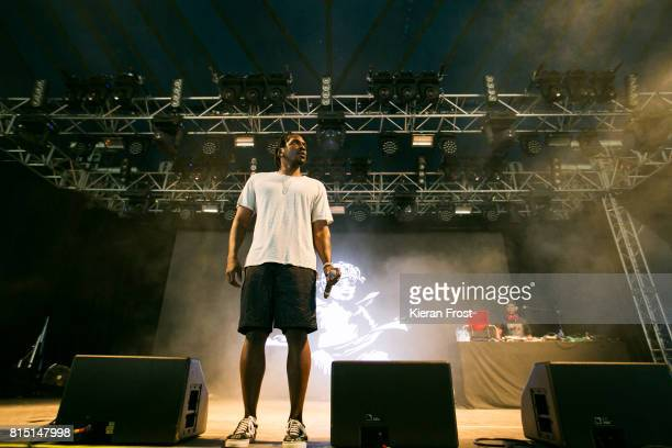 Terrence LeVarr Thornton aka Pusha T performs at Longitude Festival at Marlay Park on July 15 2017 in Dublin Ireland