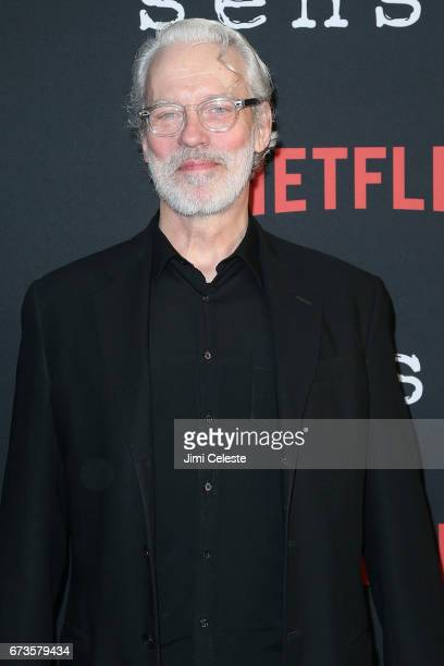 Terrence Mann attend the Season 2 Premiere of Netflix's Sense8 at AMC Lincoln Square Theater on April 26 2017 in New York City