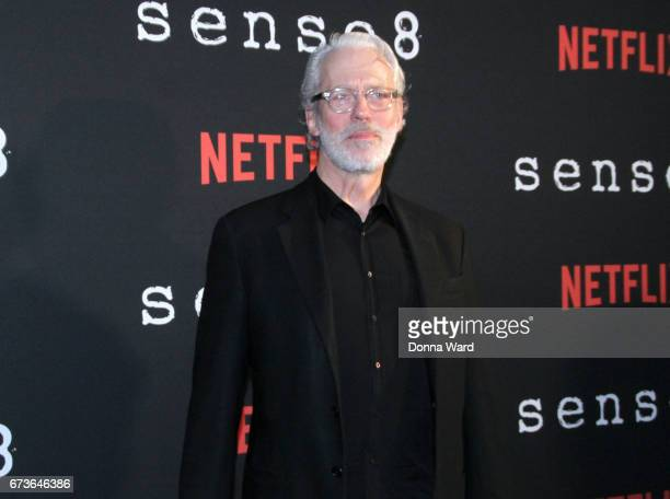 Terrence Mann attends the Sense8 New York Premiere at AMC Lincoln Square Theater on April 26 2017 in New York City