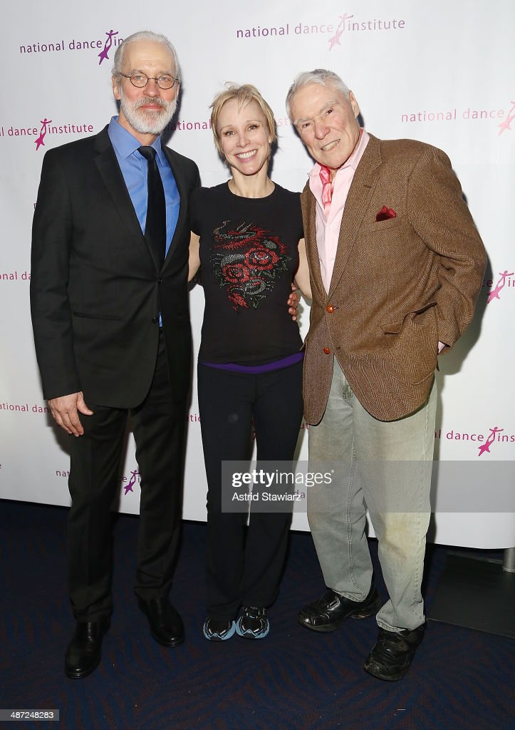 Terrence Mann, Charlotte d'Amboise and Jacques d'Amboise attend the 2014 National Dance Institute Annual Gala at Best Buy Theater on April 28, 2014 in New York City.