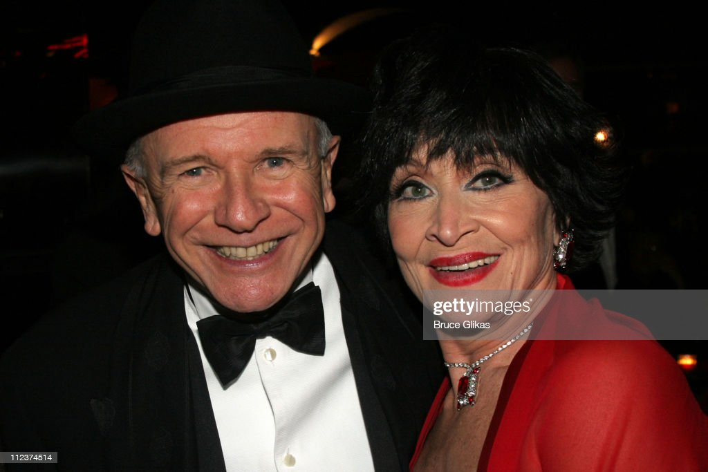 Terrence McNally and Chita Rivera