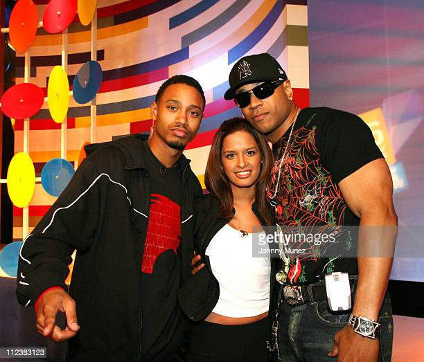 Terrence Rocsi and LL Cool J during LL Cool J and Lil Flip Visit 106 Park January 17 2007 at 106 Park in New York City New York United States