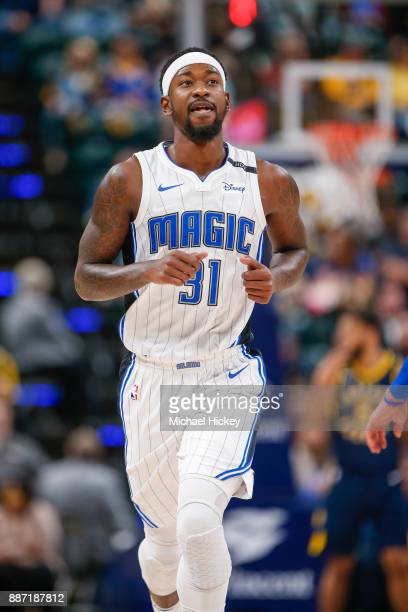 Terrence Ross of the Orlando Magic is seen during the game against the Indiana Pacers at Bankers Life Fieldhouse on November 27 2017 in Indianapolis...
