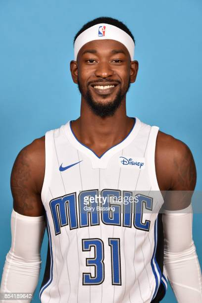 Terrence Ross of the Orlando Magic poses for a head shot during media day on September 25 2017 at Amway Center in Orlando Florida NOTE TO USER User...