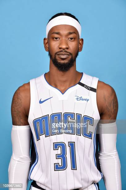 Terrence Ross of the Orlando Magic poses for a head shot during NBA Media Day on September 24 2018 at Amway Center in Orlando Florida NOTE TO USER...