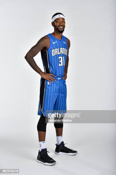 Terrence Ross of the Orlando Magic poses for a portrait during Magic Media Day 2 on October 6 2017 at Amway Center in Orlando Florida NOTE TO USER...
