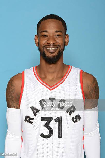 Terrence Ross of the Toronto Raptors poses for a head shot during the 20162017 Media Day on September 26 2016 at the BioSteel Centre in Toronto...