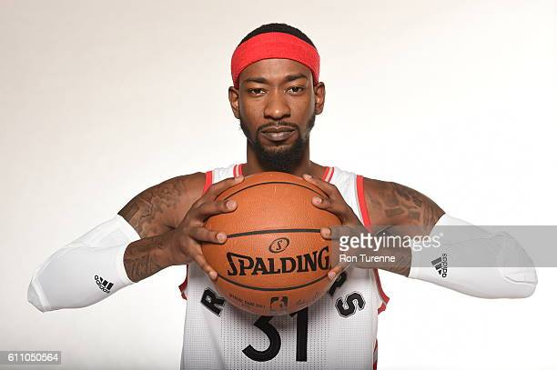 Terrence Ross of the Toronto Raptors poses for a portrait during 2016 Media Day on September 28 2016 at the BioSteel Centre in Toronto Ontario Canada...