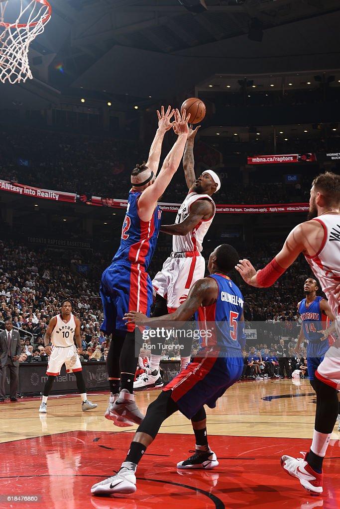 Detroit Pistons v Toronto Raptors : News Photo