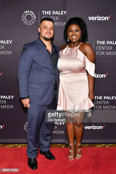 Terrence Williams and Deborah Joy Winans attend the 2018 Paley Honors at Cipriani Wall Street on May 15 2018 in New York City