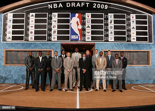 Terrence Williams Jrue Holiday DeMar DeRozan Gerald Henderson Jordan Hill Stephen Curry Hasheem Thabeet Ricky Rubio Blake Griffin James Harden Austin...