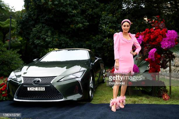 Terri Biviano attends the 2020 Melbourne Cup Carnival Sydney Launch on October 27 2020 in Sydney Australia
