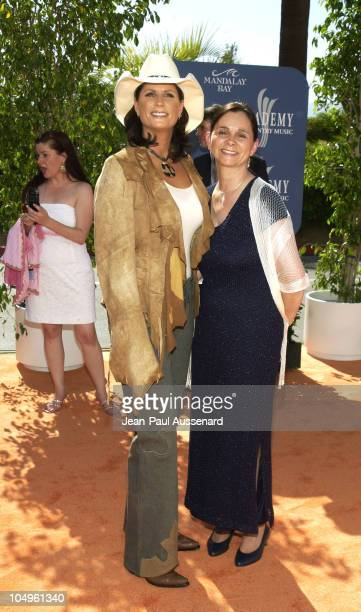 Terri Clark and guest during 38th Annual Academy of Country Music Awards Arrivals at Mandalay Bay Event Center in Las Vegas Nevada United States