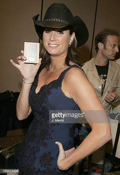 Terri Clark during 40th Annual Academy of Country Music Awards Backstage with Chipotle at The Mandalay Bay in Las Vegas Nevada United States