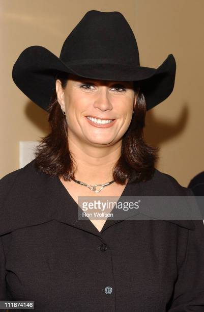 Terri Clark during The 39th Annual Academy of Country Music Awards Nominations at St Regis Hotel in Century City CA United States