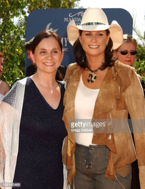 Terri Clark Mom Linda during 38th Annual Academy of Country Music Awards Arrivals at Mandalay Bay Event Center in Las Vegas Nevada United States