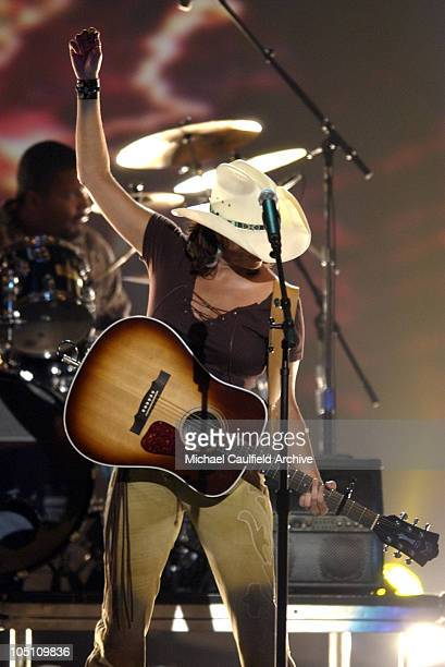 Terri Clark performs I Just Wanna Be Mad during 38th Annual Academy of Country Music Awards Show at Mandalay Bay Event Center in Las Vegas Nevada...