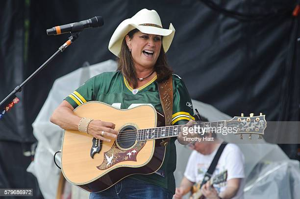 Terri Clark performs on day 4 of Country Thunder Wisconsin on July 24 2016 in Twin Lakes Wisconsin