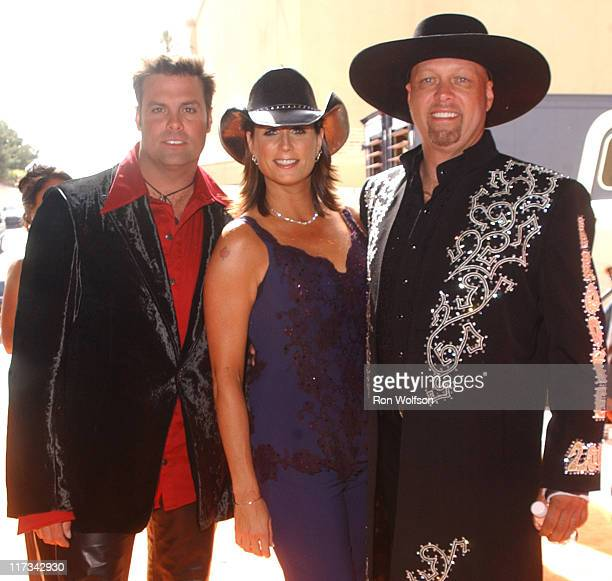 Terri Clark with Montgomery Gentry during 40th Annual Academy of Country Music Awards Audience and Backstage at Mandalay Bay Resort Casino in Las...