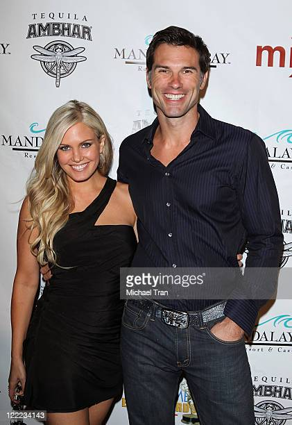 Terri Colombino and Austin Peck arrive to the 2010 Daytime Emmy Awards Official Pre-Party held at miX Lounge - THEhotel at Mandalay Bay on June 26,...