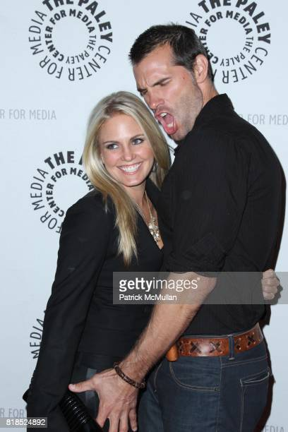 Terri Colombino and Austin Peck attend PALEY CENTER FOR THE MEDIA Presents a Farewell to AS THE WORLD TURNS at Paley Center for the Media on August...