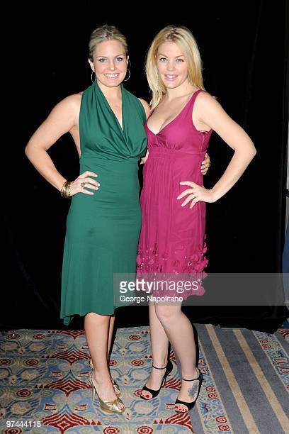 Terri Colombino and Bree Williamson attend the 25th Annual Starlight Children's Foundation Gala at The New York Marriott Marquis on March 4, 2010 in...