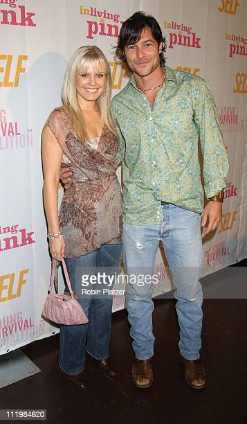 Terri Colombino and Mark Collier during Self Magazines Young Survival Coalition Benefit at Angel Orensanz Foundation in New York City, New York,...