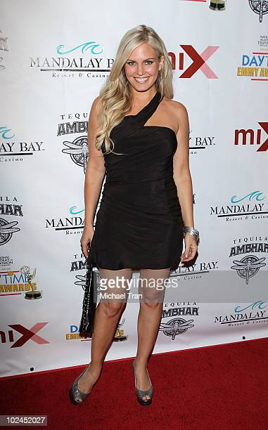 Terri Colombino arrives to the 2010 Daytime Emmy Awards Official Pre-Party held at miX Lounge - THEhotel at Mandalay Bay on June 26, 2010 in Las...