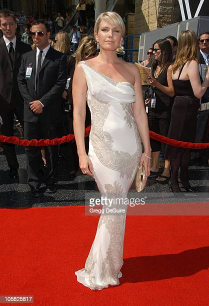 Terri Colombino during 34th Annual Daytime Emmy Awards - Arrivals at Kodak Theater in Hollywood, California, United States.