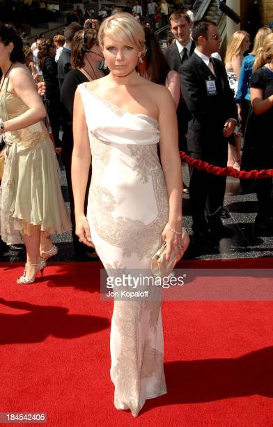 Terri Colombino during 34th Annual Daytime Emmy Awards - Arrivals at Kodak Theatre in Hollywood, California, United States.