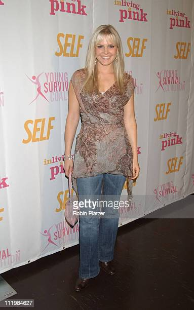 Terri Colombino during Self Magazines Young Survival Coalition Benefit at Angel Orensanz Foundation in New York City, New York, United States.