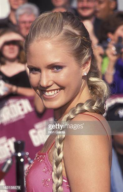 Terri Conn attends 26th Annual Daytime Emmy Awards on May 21, 1999 at Madison Square Garden in New York City.