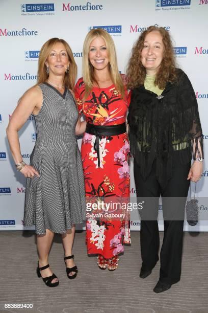 Terri Goldberg Jill Martin and Dr Alyson MoadelRobblee attend Albert Einstein College of Medicine's 63rd Annual Spirit of Achievement Luncheon on May...