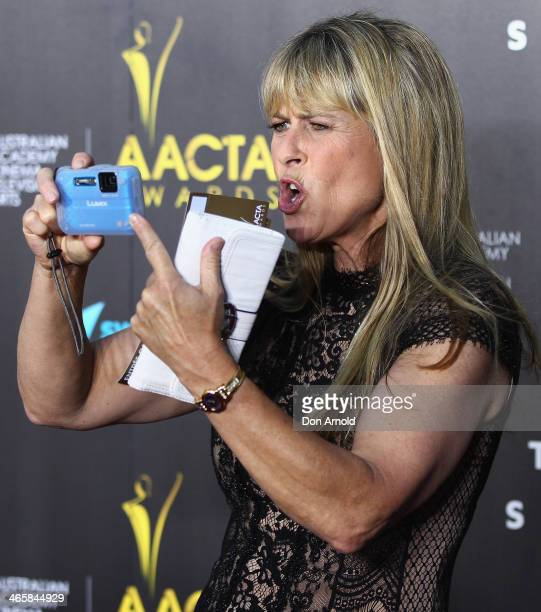 Terri Irwin arrives at the 3rd Annual AACTA Awards Ceremony at The Star on January 30 2014 in Sydney Australia